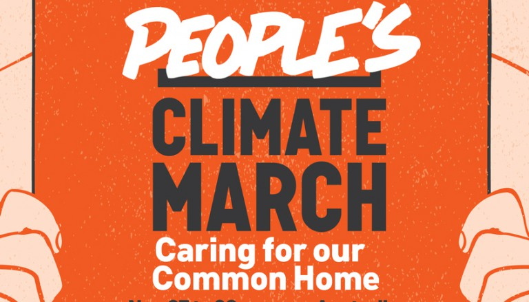 The People's Climate March 27 – 29 November 2015