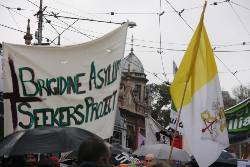 brigidine asylum seekers protest