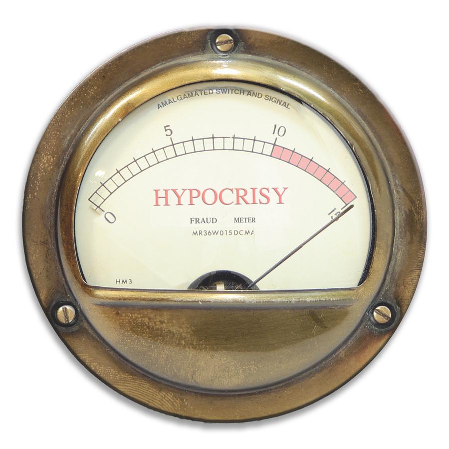 Beware of Hypocrisy – Pope Francis