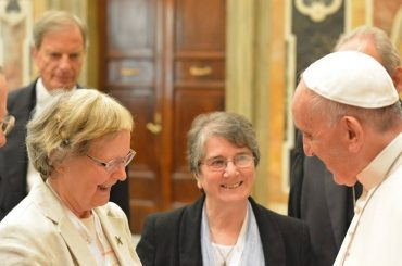 Pope Francis Meeting Women Religious from RENATE Assembly