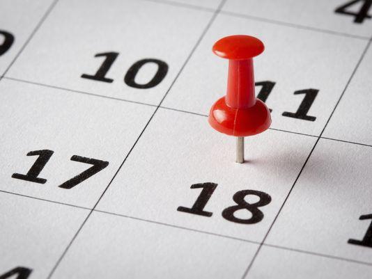 Beginning Your 2017 Calendar