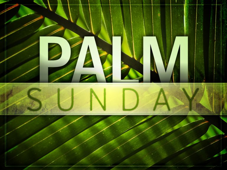 Coming Event on Palm Sunday