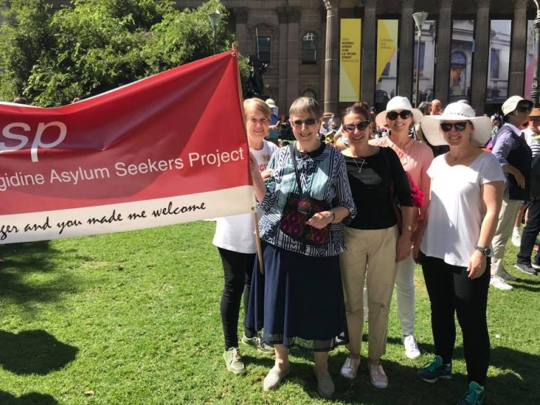 Palm Sunday Peace Rally for Refugees