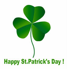 St Patrick's Day – 17 March