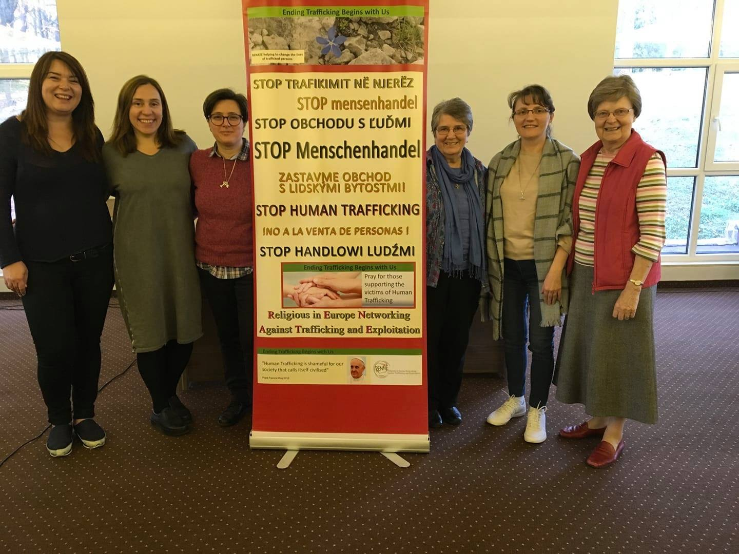 Newly Elected RENATE Core Group