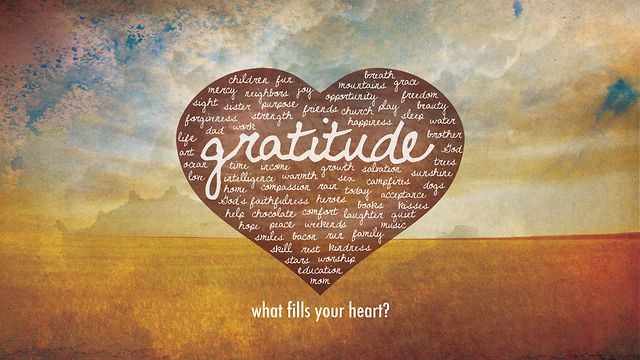 Remember to Be Grateful!