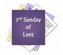 Third Sunday of Lent 2020