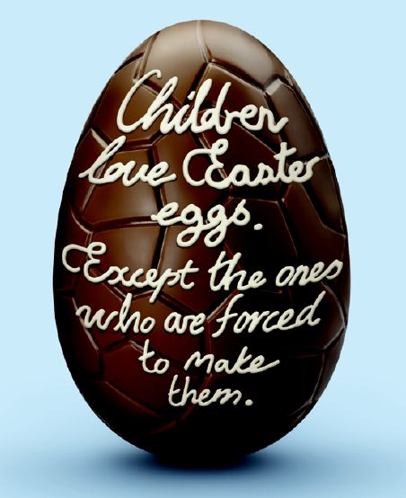 Buy Slavery Free Easter Chocolate and Be A Good Egg