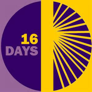 16 days Campaign  Against Gender-based Violence.