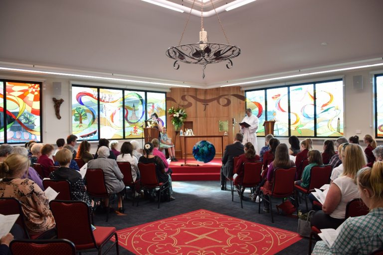 Opening of New Chapel, Clonard College, Geelong