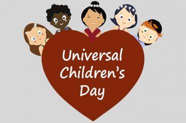 Universal Children's Day – 20 November