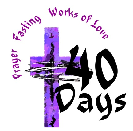 Lent 2018 – Time to Pray, Fast, Give