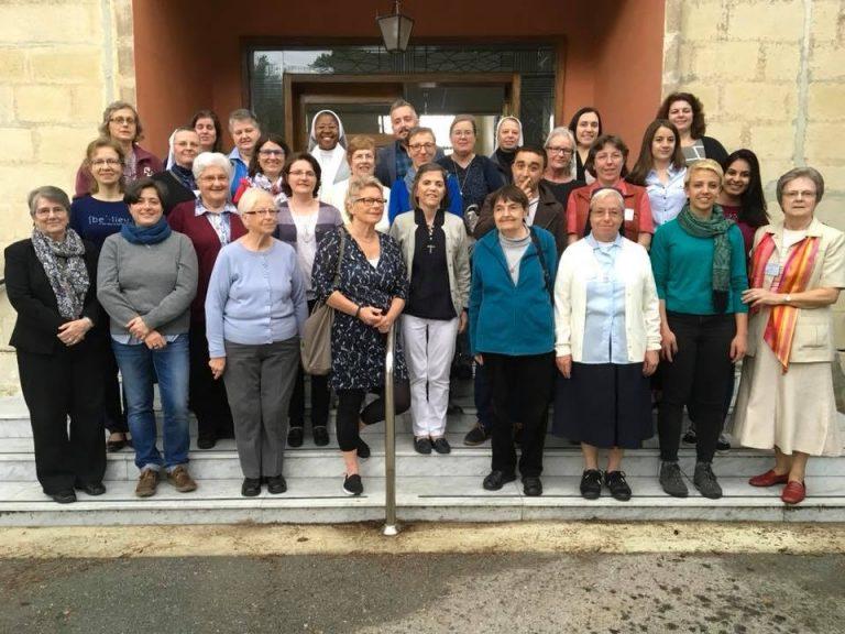 Brigidine Sister facilitates RENATE Conference, Malta