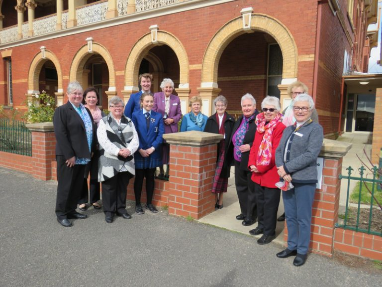 Ritual of Entrusting the Land at Marian College Ararat