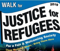 Brigidines Walk in Support of Refugees