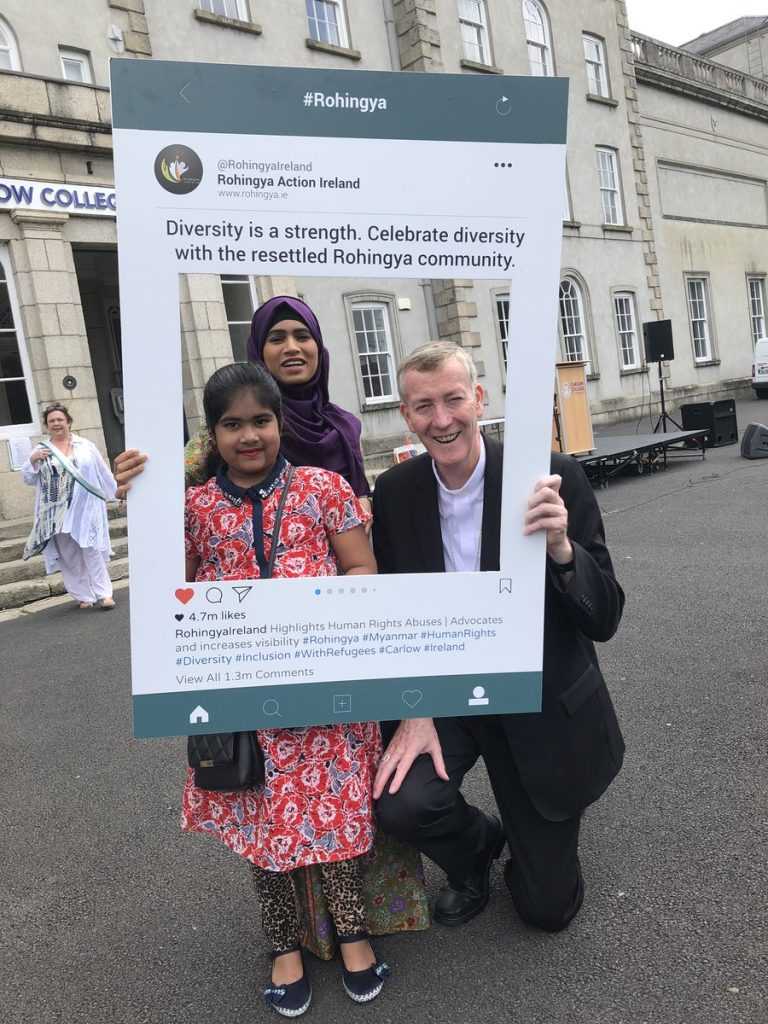Support for Rohingya Refugees in Ireland