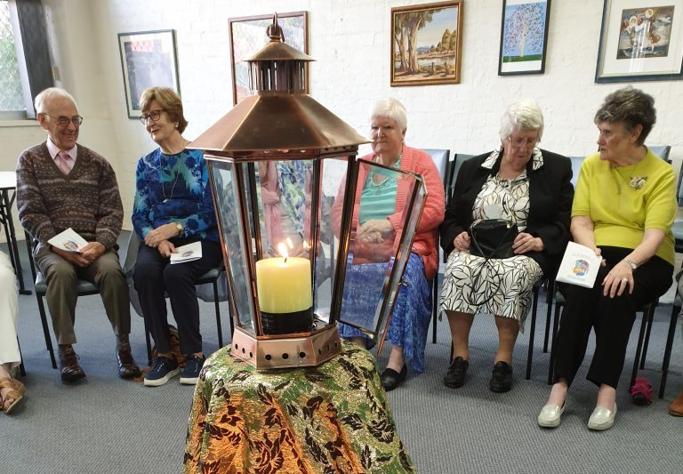 Lighting the Brigid Lamp at Kildara Centre