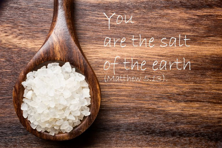 """You are the Salt of the Earth"""
