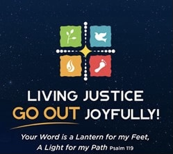 Living Justice, Go Out Joyfully
