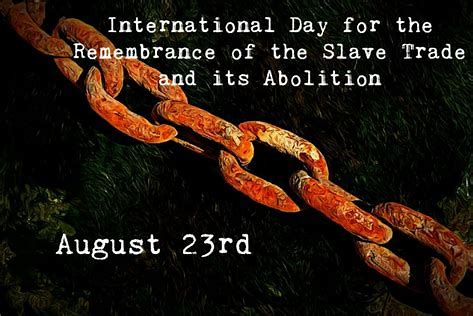 August 23: Day of Remembrance and Challenge
